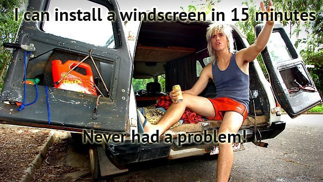 bogan windscreen repairer