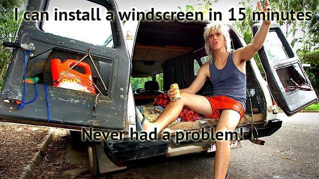 bogan windscreen repairer