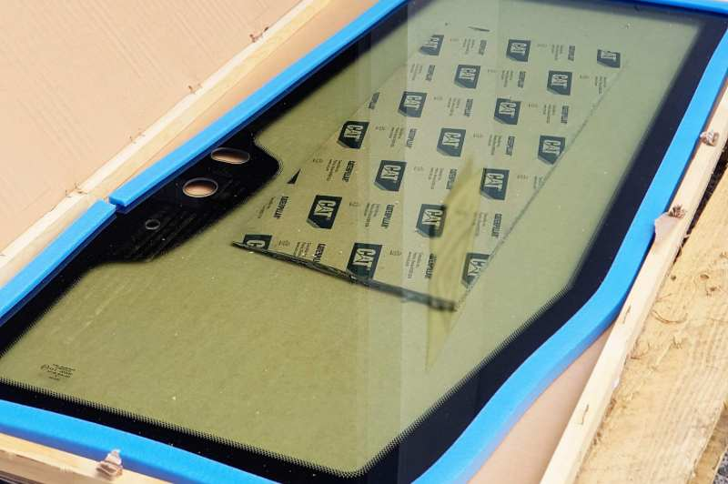 Cab windscreen replacement - machinery glass