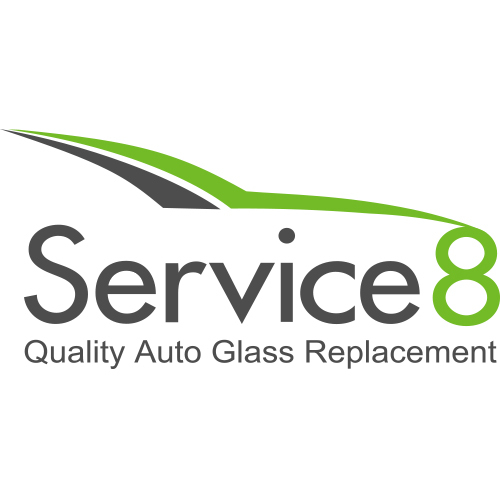 Service 8® Auto Glass Logo